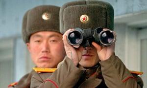 north korea soldier