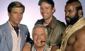 The A-Team TV series - 1983 - 1987