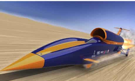Bloodhound supersonic vehicle backed by Promethean