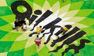 Greenpeace activists BP protest