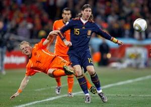 footy: Spain's Sergio Ramos