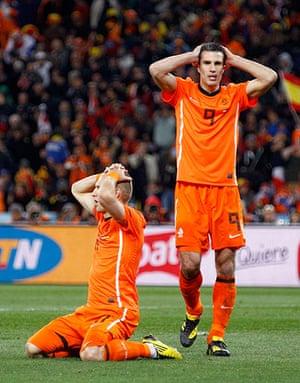footy: Netherlands' Arjen Robben
