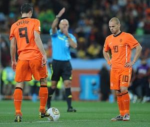 footie: Netherlands vs Spain