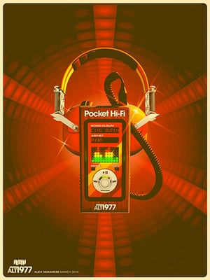 alt1977: alt1977 series Pocket hi-fi poster