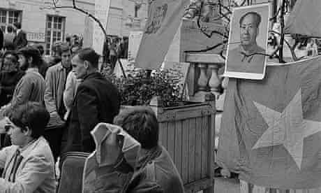 Pro-Communist Protest on Sorbonne Campus