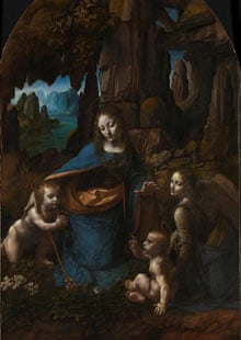 Da Vinci's Virgin on the Rocks restored