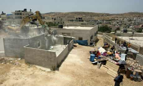 Demolition of a Palestinian home