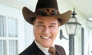 Larry Hagman as JR Ewing in Dallas