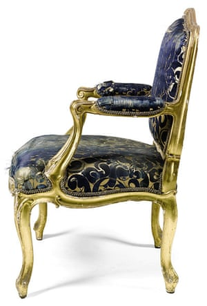 Chatsworth House auction: Louis XV single chairs
