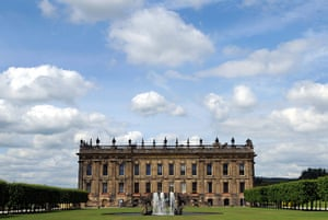 Chatsworth House auction: Chatsworth House in Derbyshire