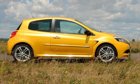 On The Road Renault Clio Renaultsport 200 Technology The Guardian