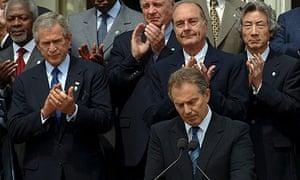 Tony Blair Gleneagles G8 summit