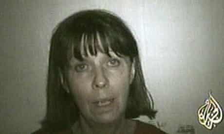 Margaret Hassan, video image shown on al-Jazeera