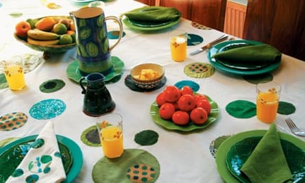Making time: table linen image