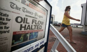 The New Orleans Times-Picayune carries the news that the Deepwater Horizon leak has been stopped