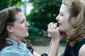 The Chap Olympiad: Chap Olympiad 40's style make-up