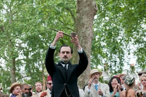 The Chap Olympiad: The Chap Olympiad opening ceremony, the lighting of the olympic pipe