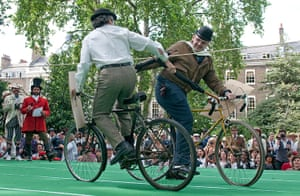 The Chap Olympiad: The Chap Olympiad umbrella jousting