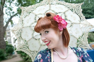 The Chap Olympiad: Chap Olympiad 40's style dress