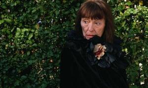 Writer Beryl Bainbridge at home in Camden Town in 1998