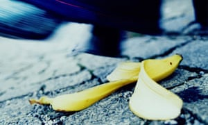 slip up banana skin accidents