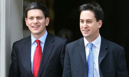 David Miliband and Ed Miliband