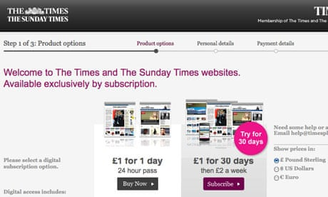 Times loses almost 90% of online readership   Media   The