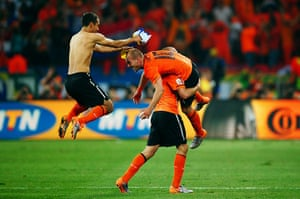 sport: Netherlands v Brazil: 2010 FIFA World Cup - Quarter Finals