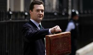 George Osborne emergency budget
