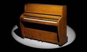 The Challen piano used by the Beatles in EMI's studio at Abbey Road.