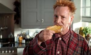 Lydon advertises butter