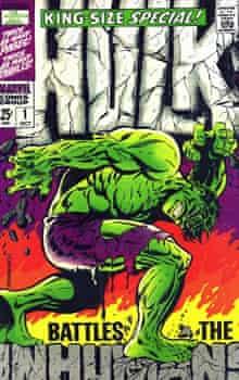 Hulk, Marvel, Jim Steranko