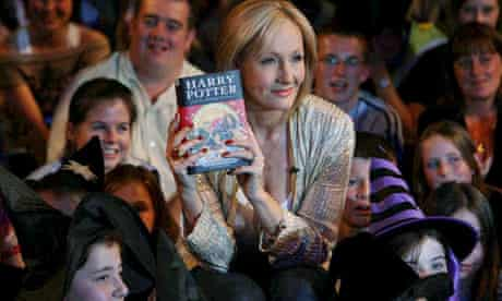 J K Rowling attends a photocall for 'Harry Potter and the Deathly Hallows'