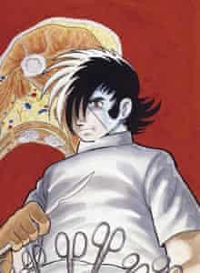 Black Jack manga comic, cover image