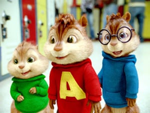 Top films of 2009:  The Chipmunks: The Squeakquel
