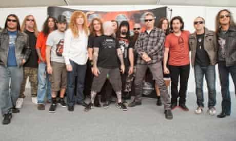 the big four thrash metal
