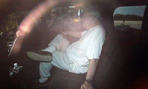 Conrad Black arrives in Palm Beach following his release from jail