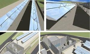 World's first molten salt solar plant