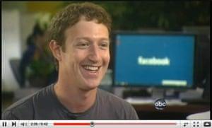 Mark Zuckerberg interviewed by Diane Sawyer on ABC News