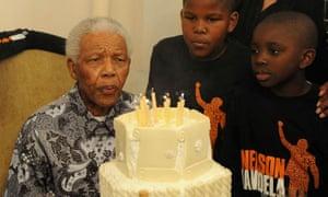Nelson Mandela 92nd birthday party