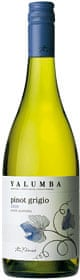 Wine: Yalumba pinot grigio