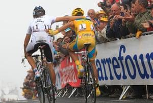 sport: Andy Schleck, Alberto Contador