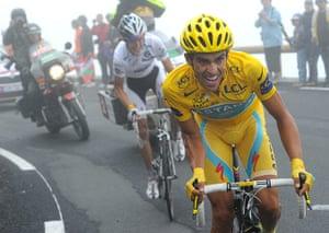 sport4: Andy Schleck, Alberto Contador