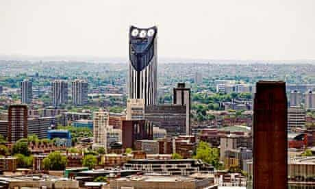 The Strata Tower in Elephant and Castle, south London