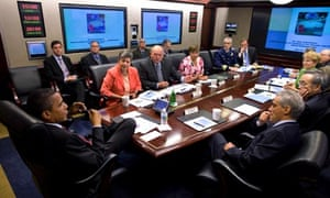 Barack Obama gets BP briefing