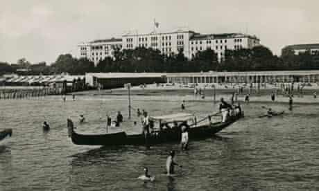 The Grand Hôtel des Bains, circa 1920, in Venice