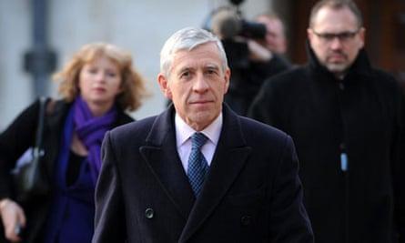 Justice secretary Jack Straw Chilcot Iraq inquiry