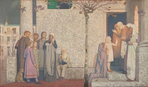 Frederick Cayley Robinson: Acts of Mercy: The Doctor II, 1916 by Frederick Cayley Robinson