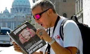 Man reads gay priests expose
