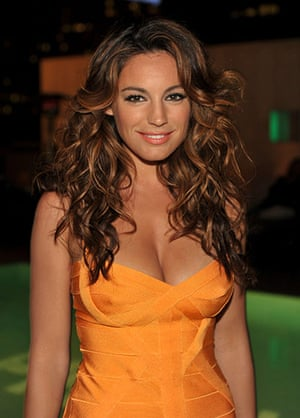 Comic Con: Actress Kelly Brook attends the Piranha 3D 'Too Hot For Comic-Con' party